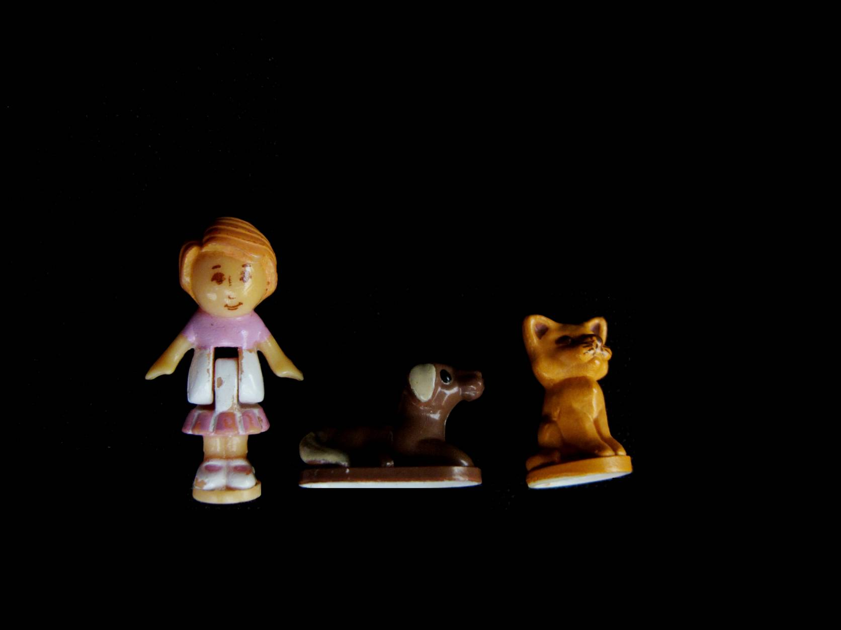 1989 Buttons Animal Hospital Polly Pocket