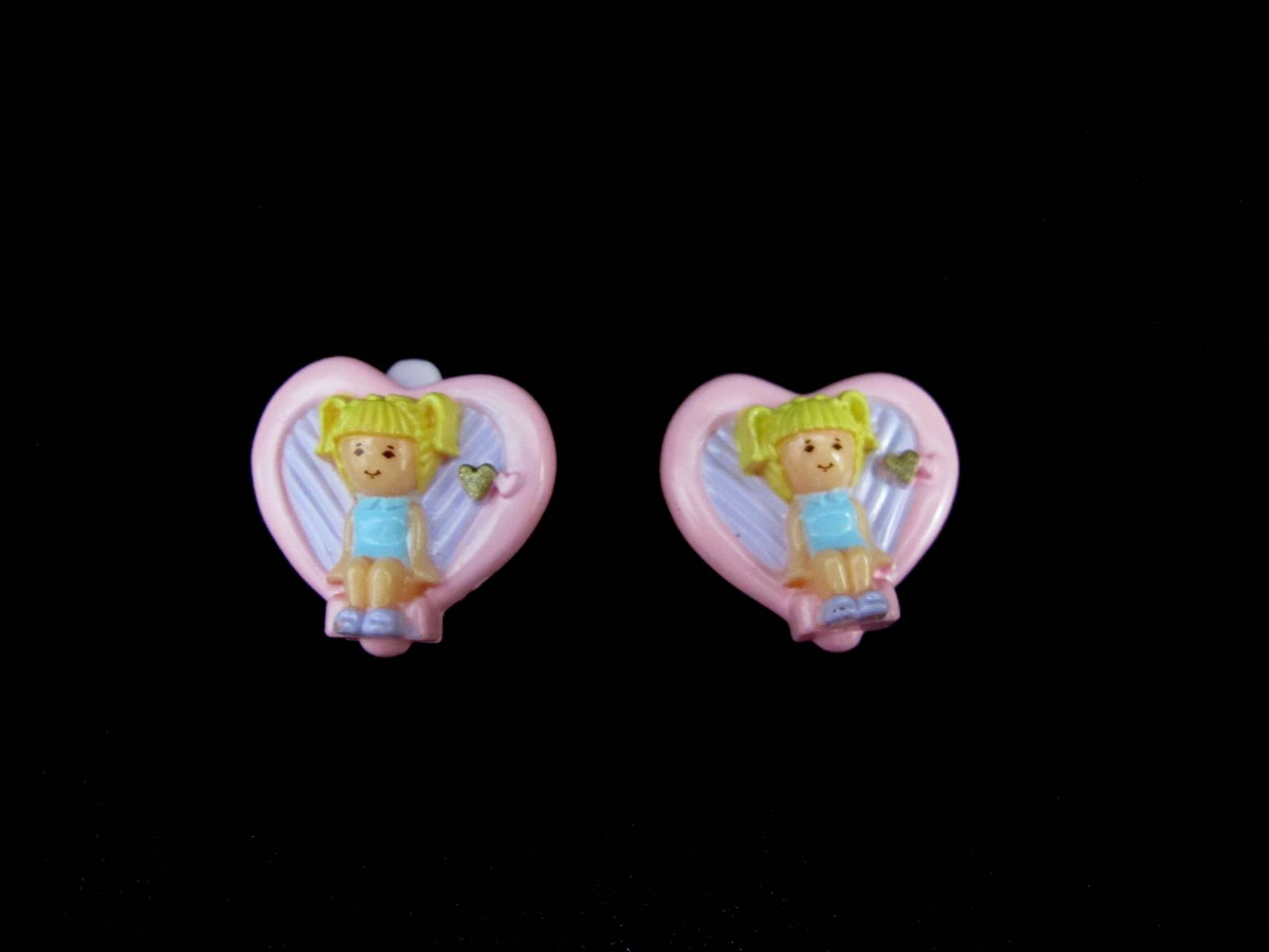 1991 Earring Case Tiny Tina Polly Pocket
