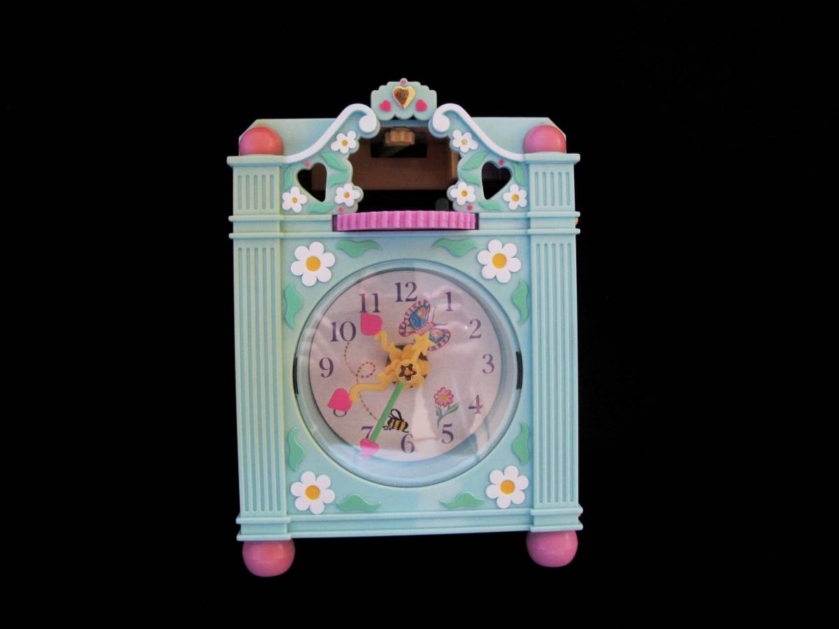 Polly Pocket Funtime Clock blauw