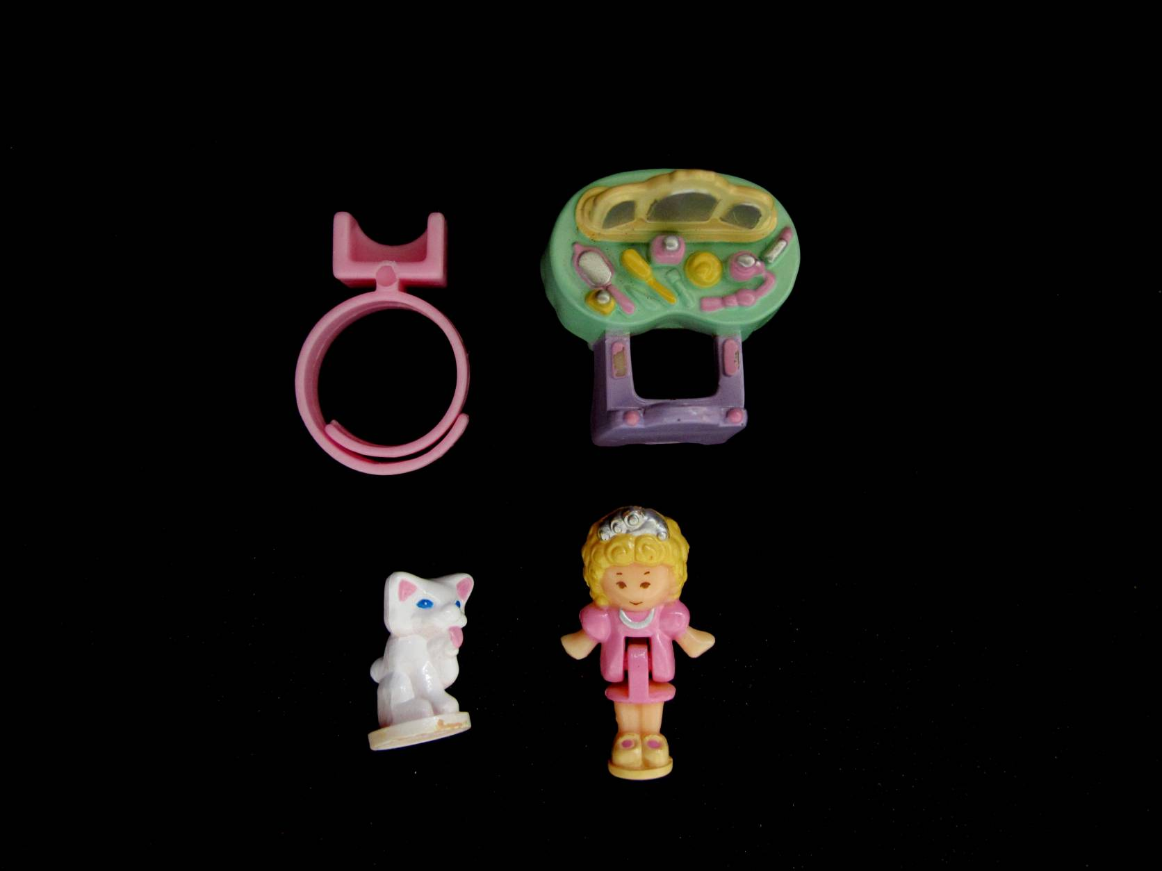 1991 Pollys big night out ringcase 3 Polly Pocket