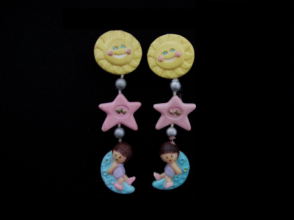 Star Dream Earrings Polly Pocket