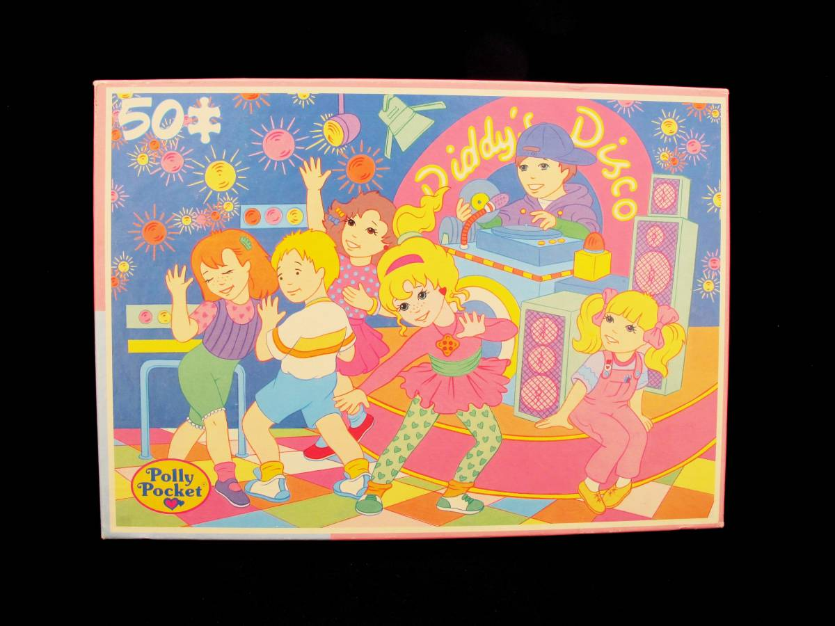 Polly Pocket Diddys Disco Puzzle