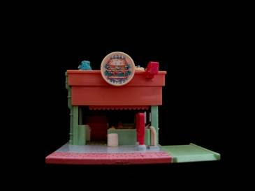 Polly Pocket Burger Restaurant Variatie