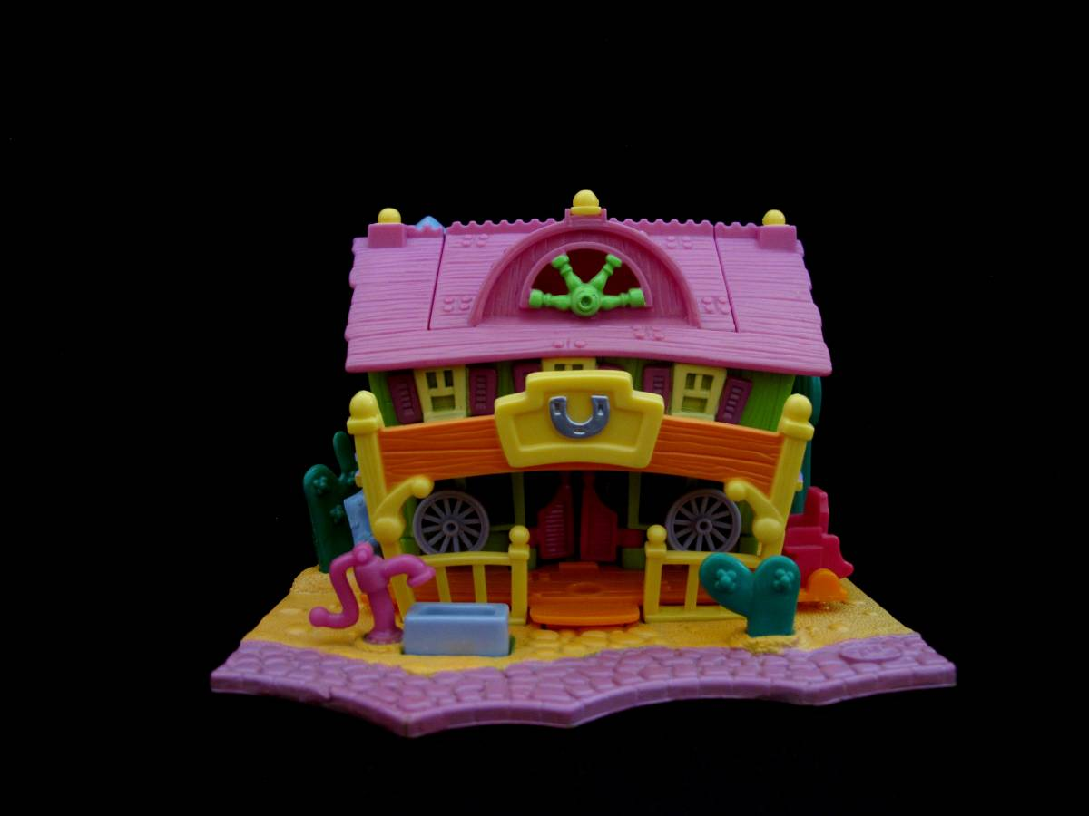 Polly Pocket Light up Horse House