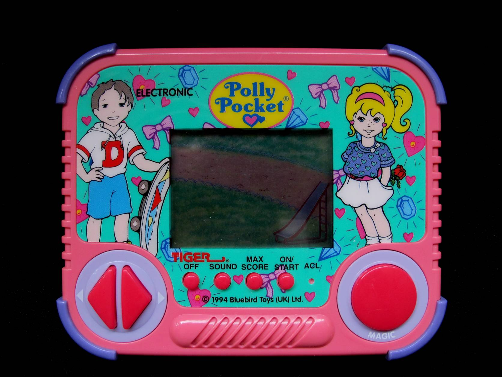 Tiger Electronics LCD game Polly Pocket