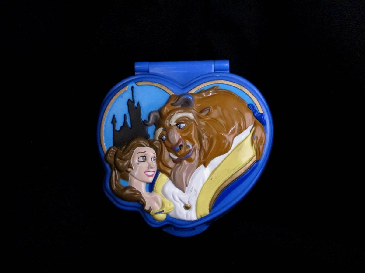 Polly Pocket Beauty and the Beast playcase