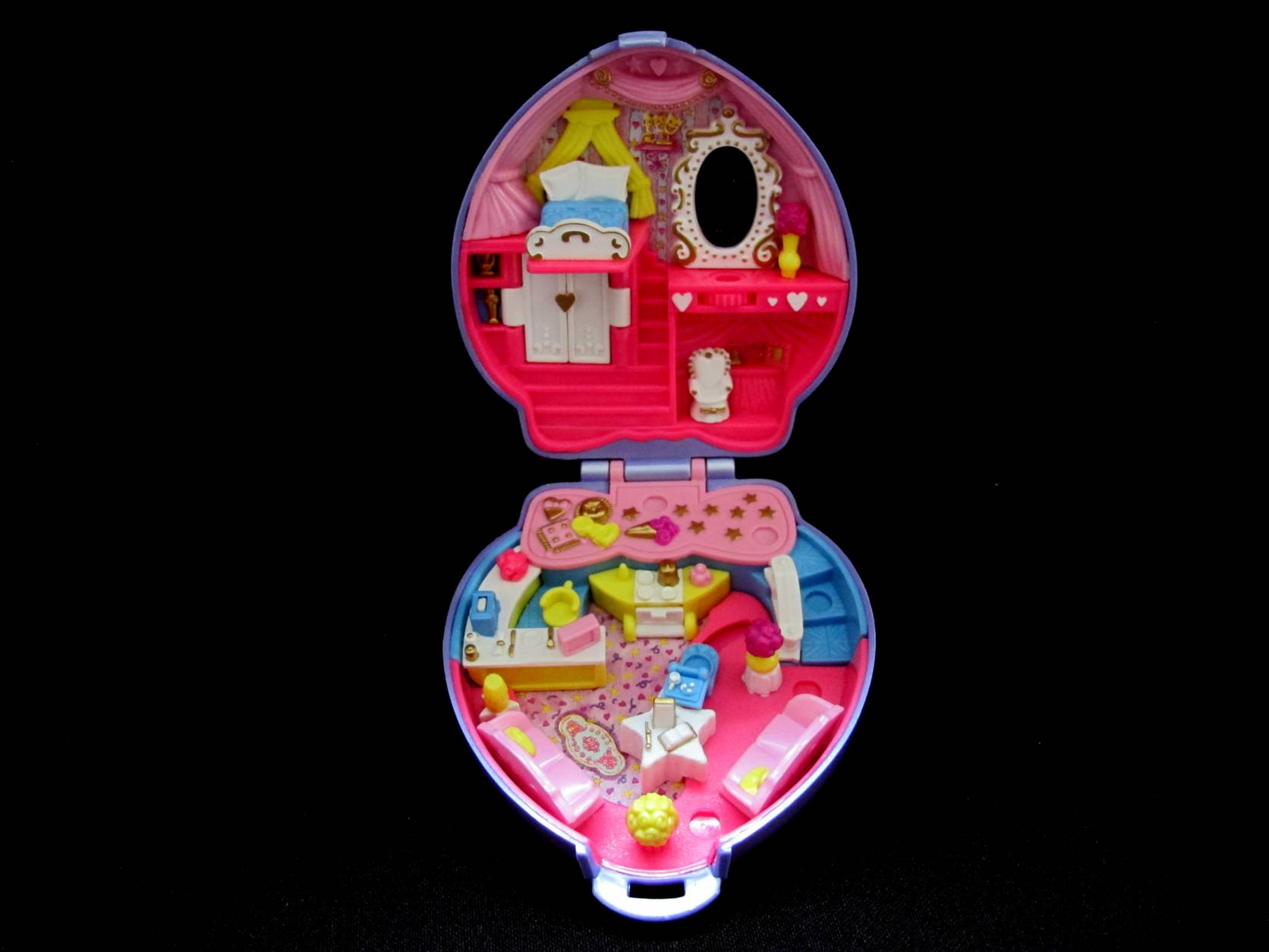 1995 Super Star Hair Polly Pocket 2
