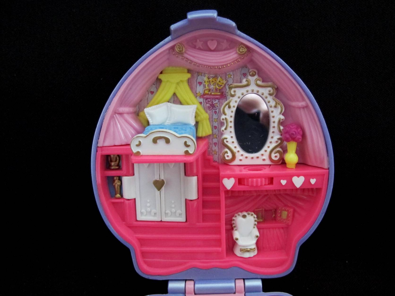 1995 Super Star Hair Polly Pocket 4
