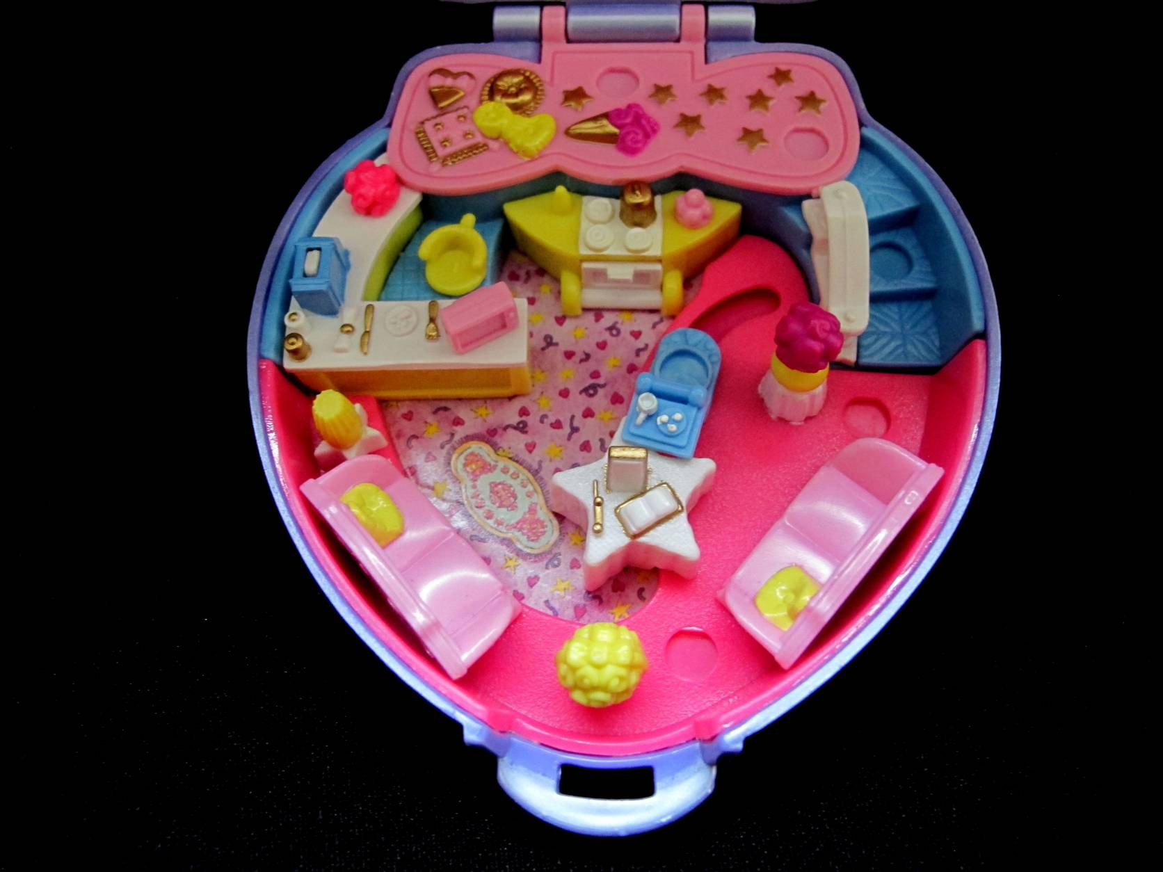 1995 Super Star Hair Polly Pocket 5