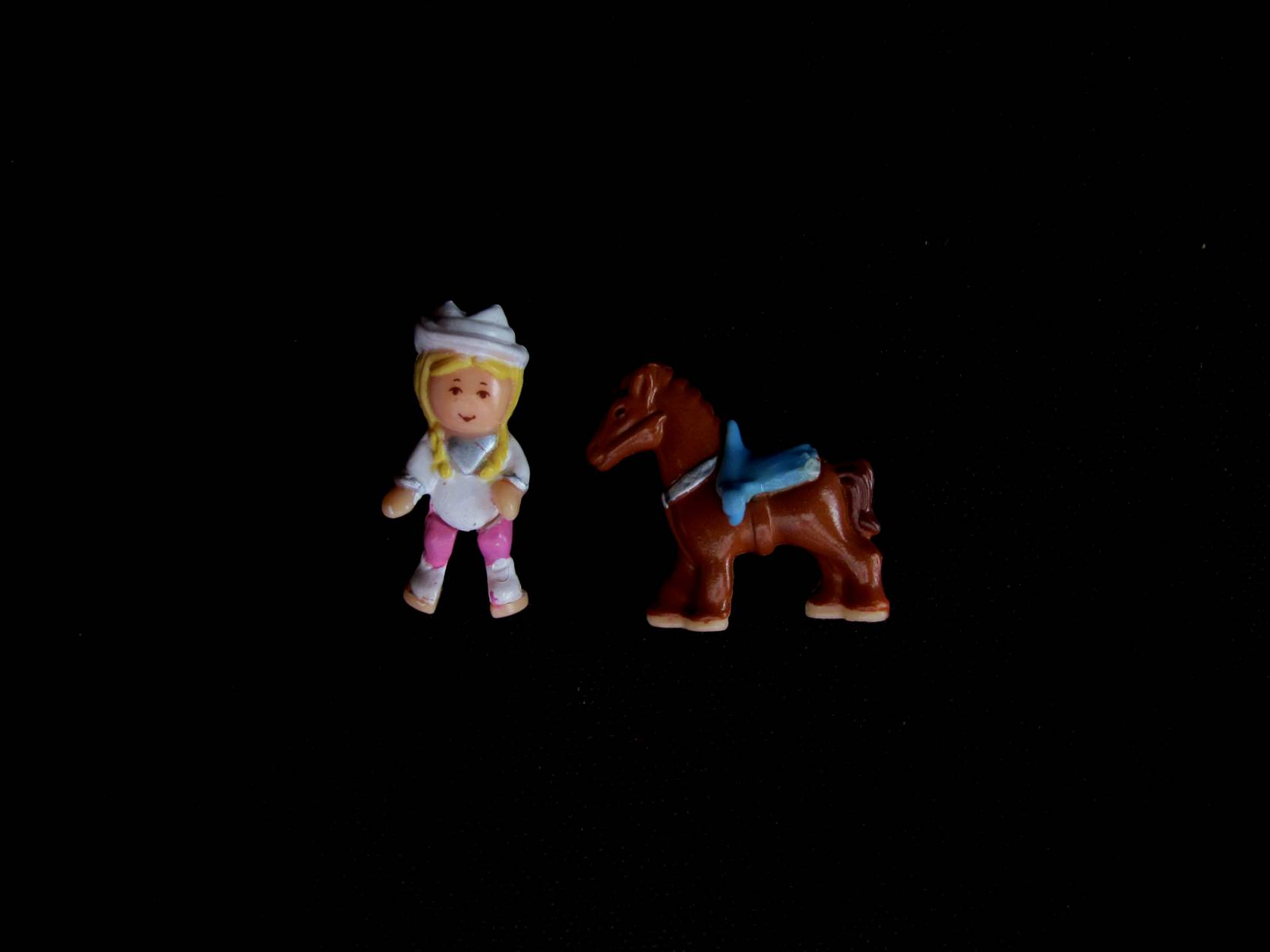 1995 Western Pony Polly Pocket