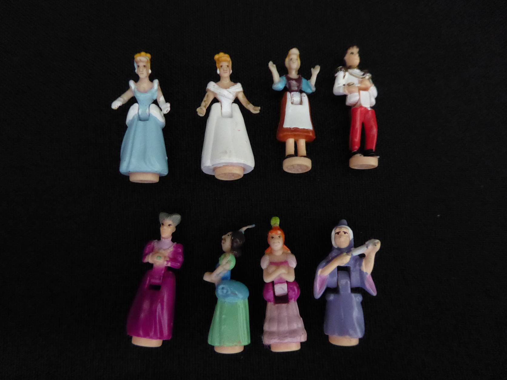 Disney 1995 Cinderellas Enchanted Castle popjes