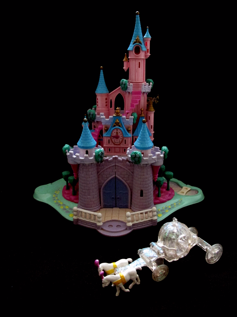 Polly Pocket Cinderella Enchanted Castle