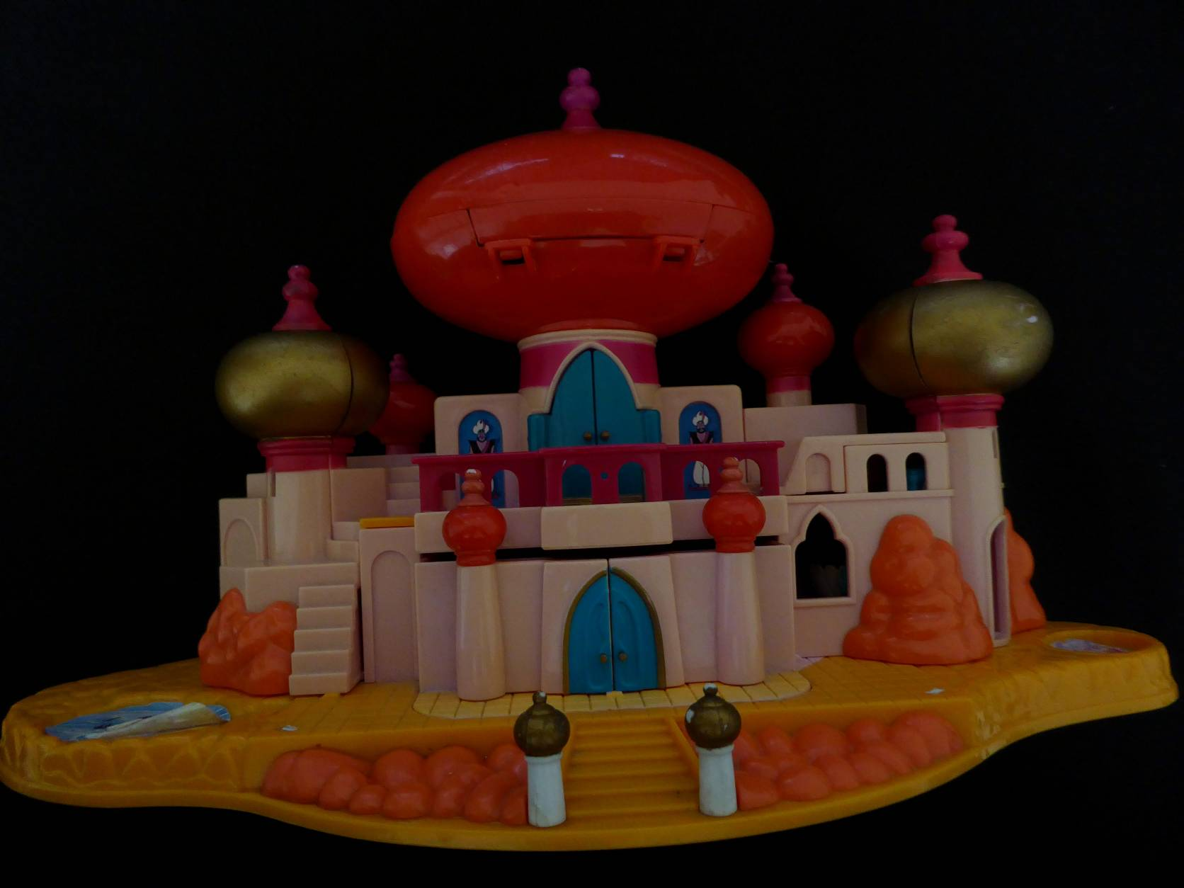 Polly Pocket Jasmines Royal Palace rood