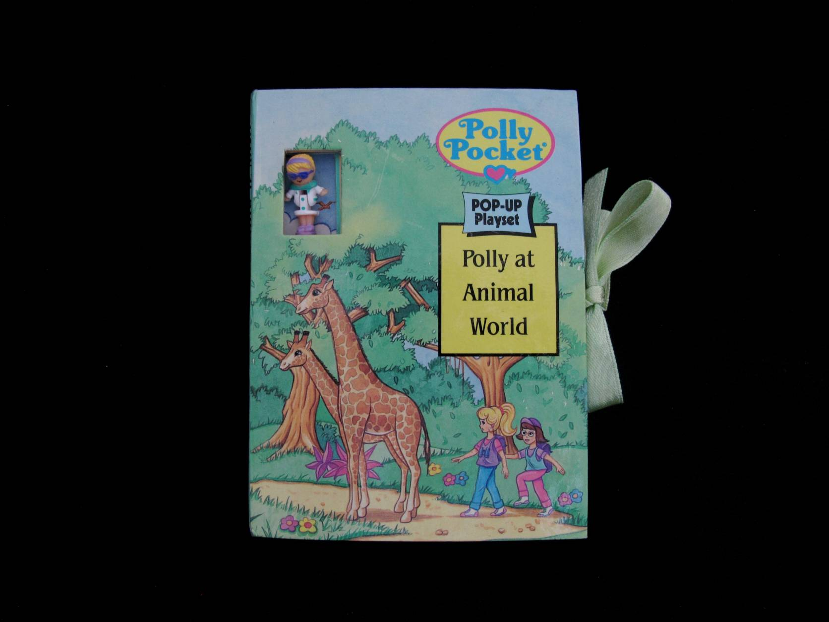 Polly Pocket Pop up Book Polly at animal world