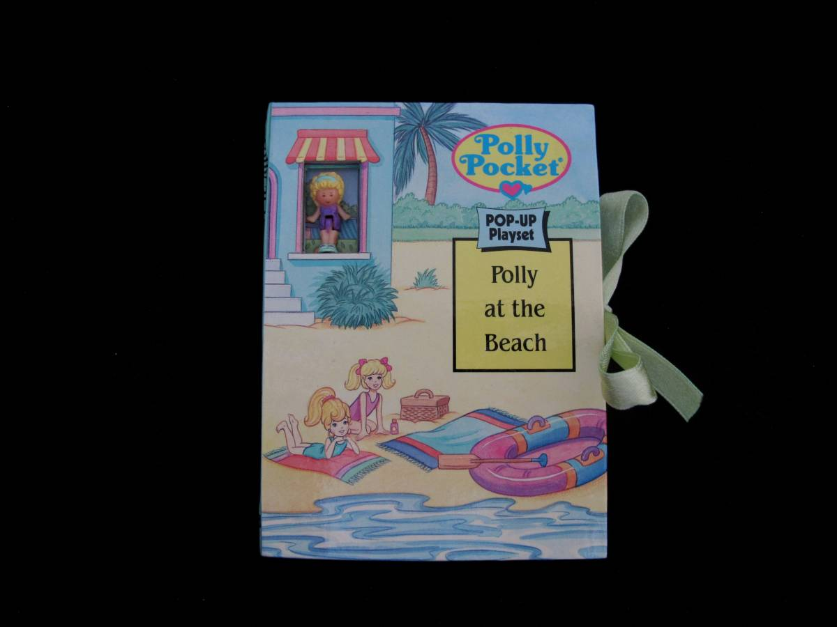Polly Pocket pop up book Polly at the beach