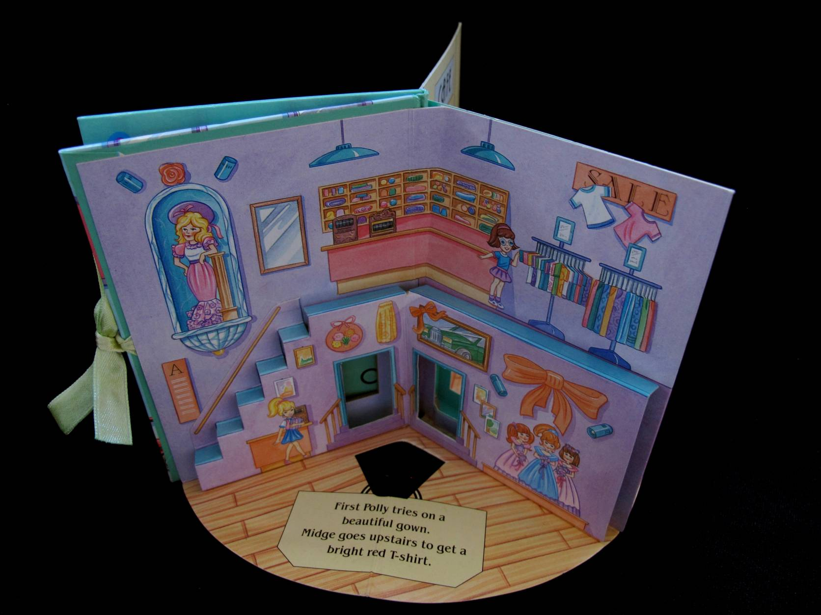 1996 Pop up playset Polly goes shopping Polly Pocket 4