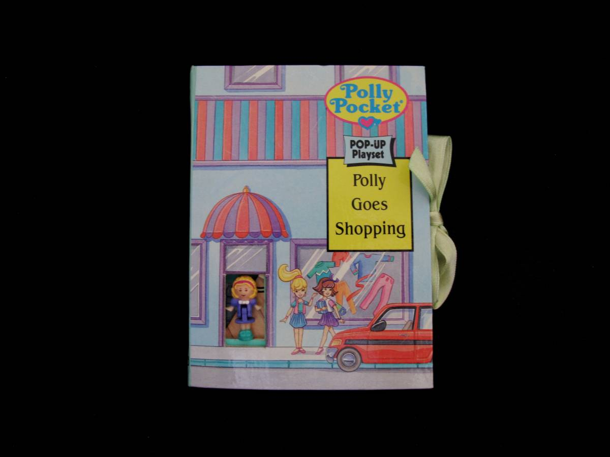 Polly Pocket Pop up Book Polly goes shopping
