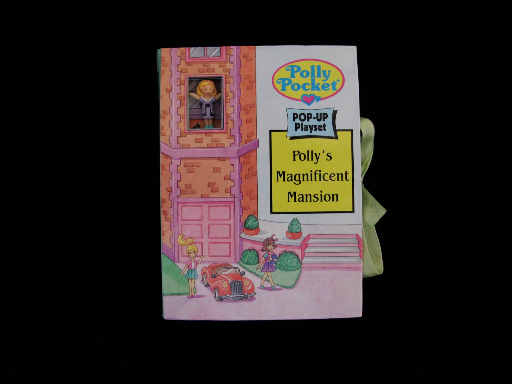 Polly Pocket pop up book Magnificent mansion