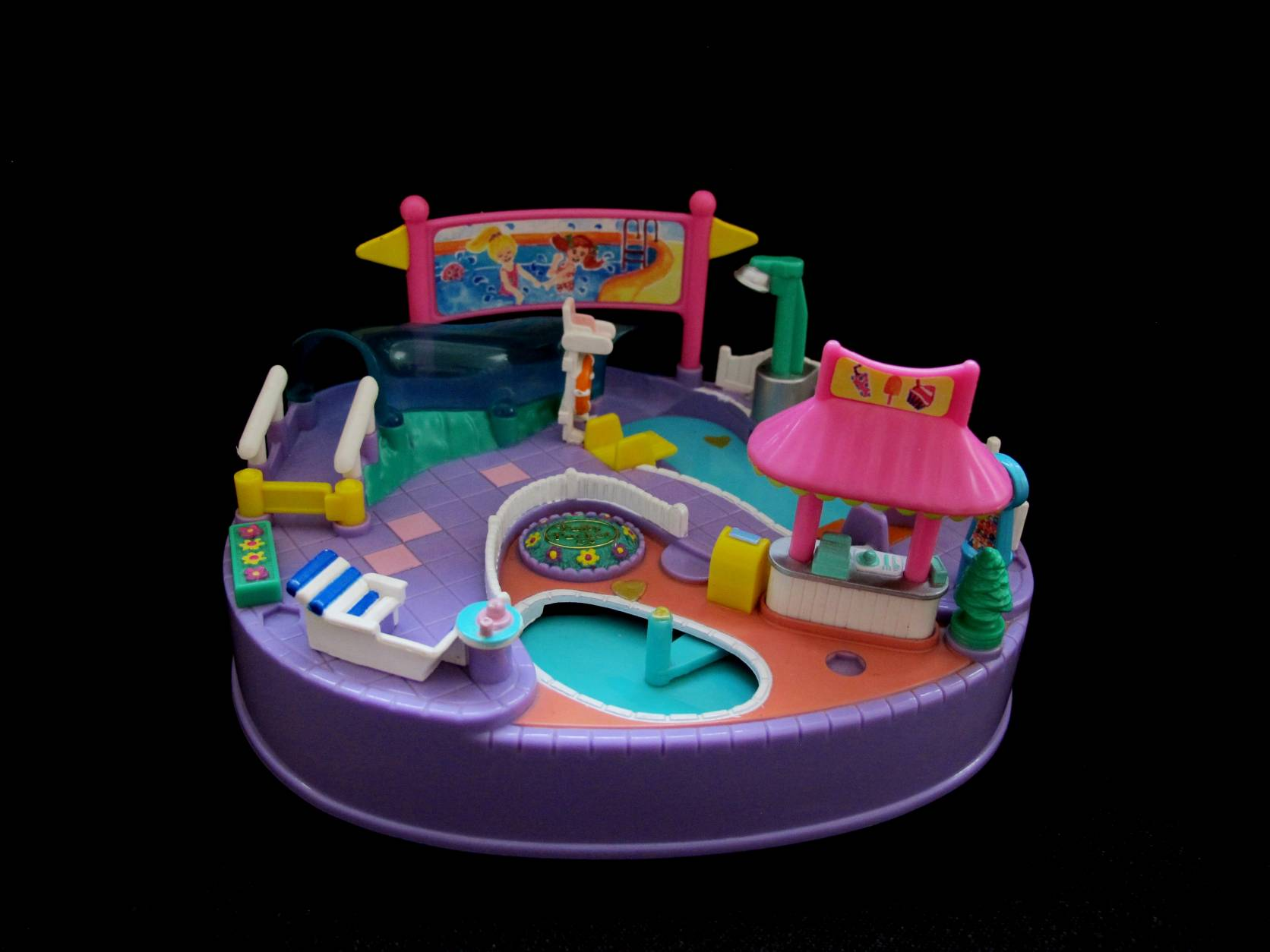 1997 Polly pocket Pool Party Variatie (1)