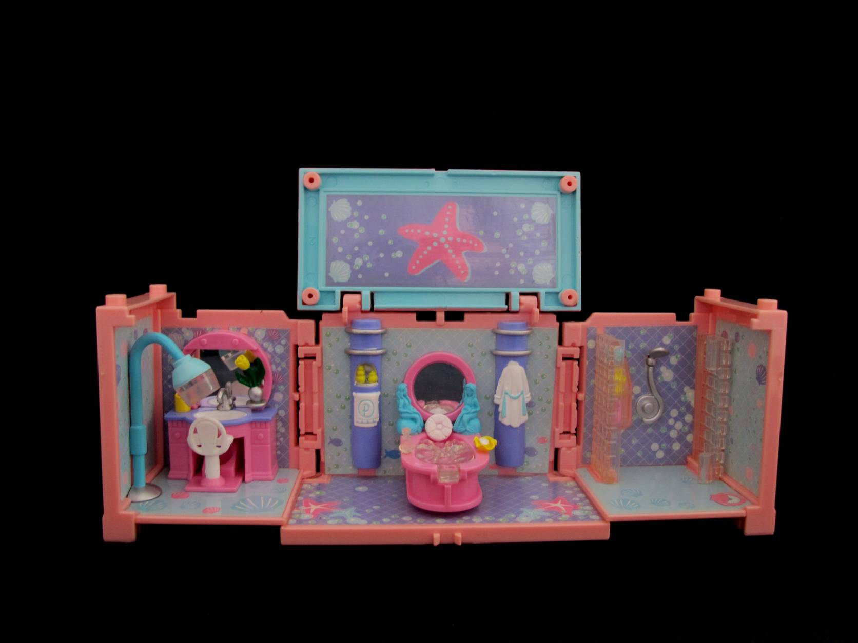 Polly Pocket Dreambuilders Bath and Beautyroom