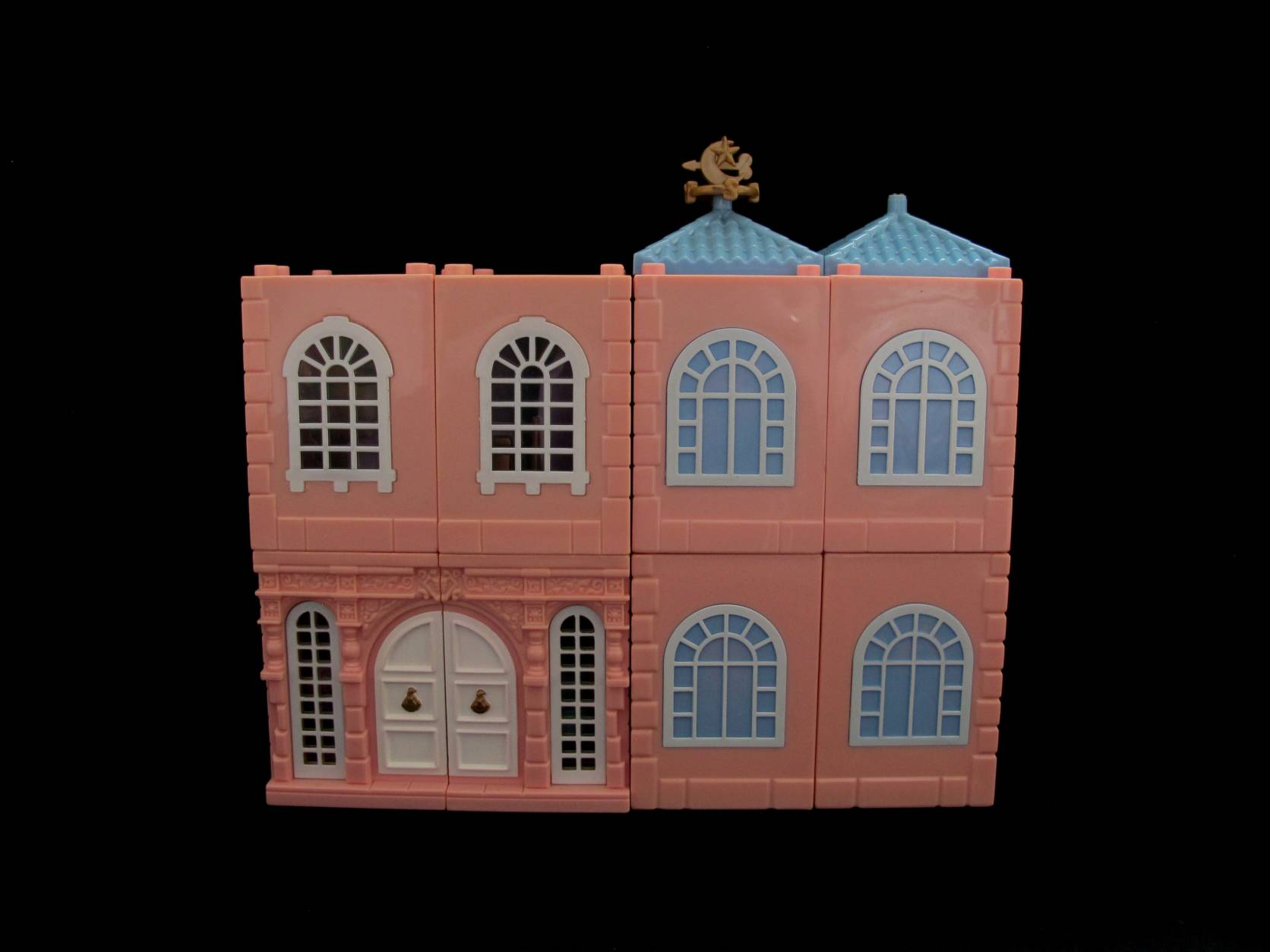 1999 Polly Pocket Dreambuilders Deluxe Mansion (1)