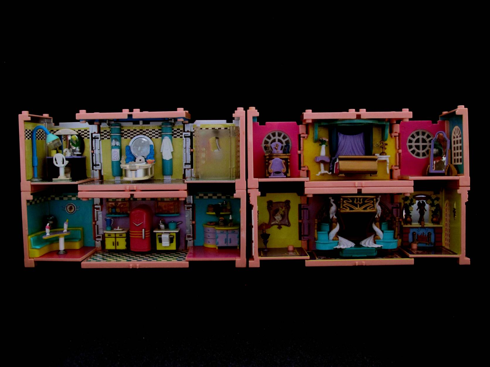 1999 Polly Pocket Dreambuilders Deluxe Mansion (6)
