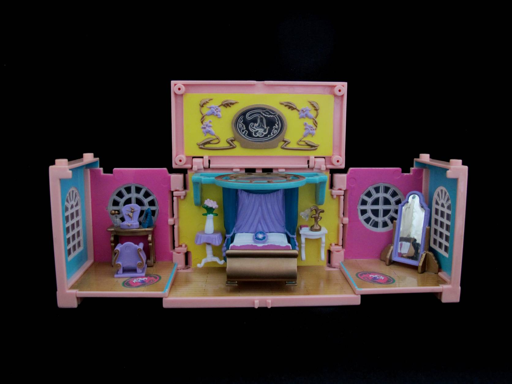 1999 Polly Pocket Dreambuilders Deluxe Mansion Bedroom