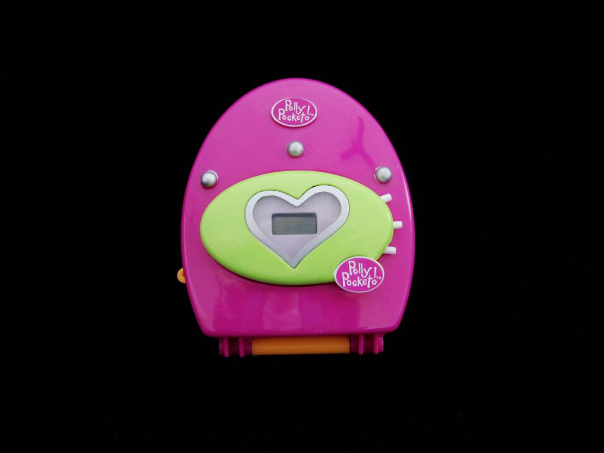 Polly Pocket Trendy Tronics Clock