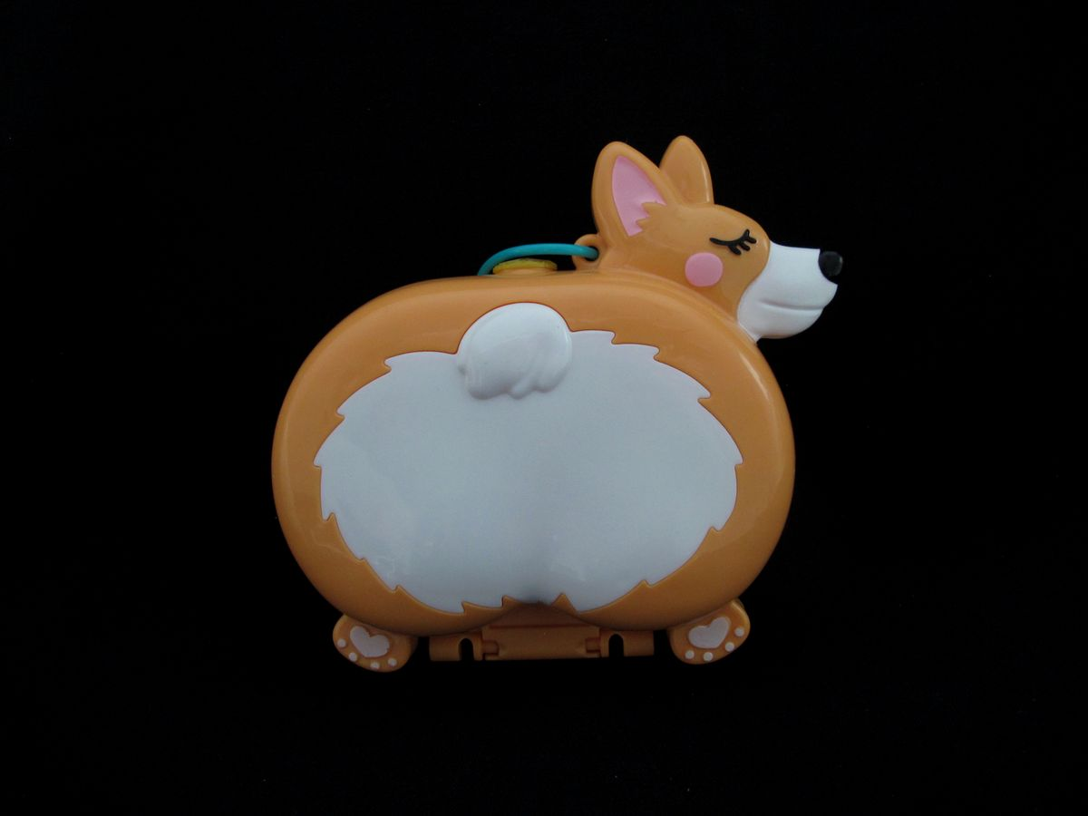 Polly Pocket Corgi Cuddles