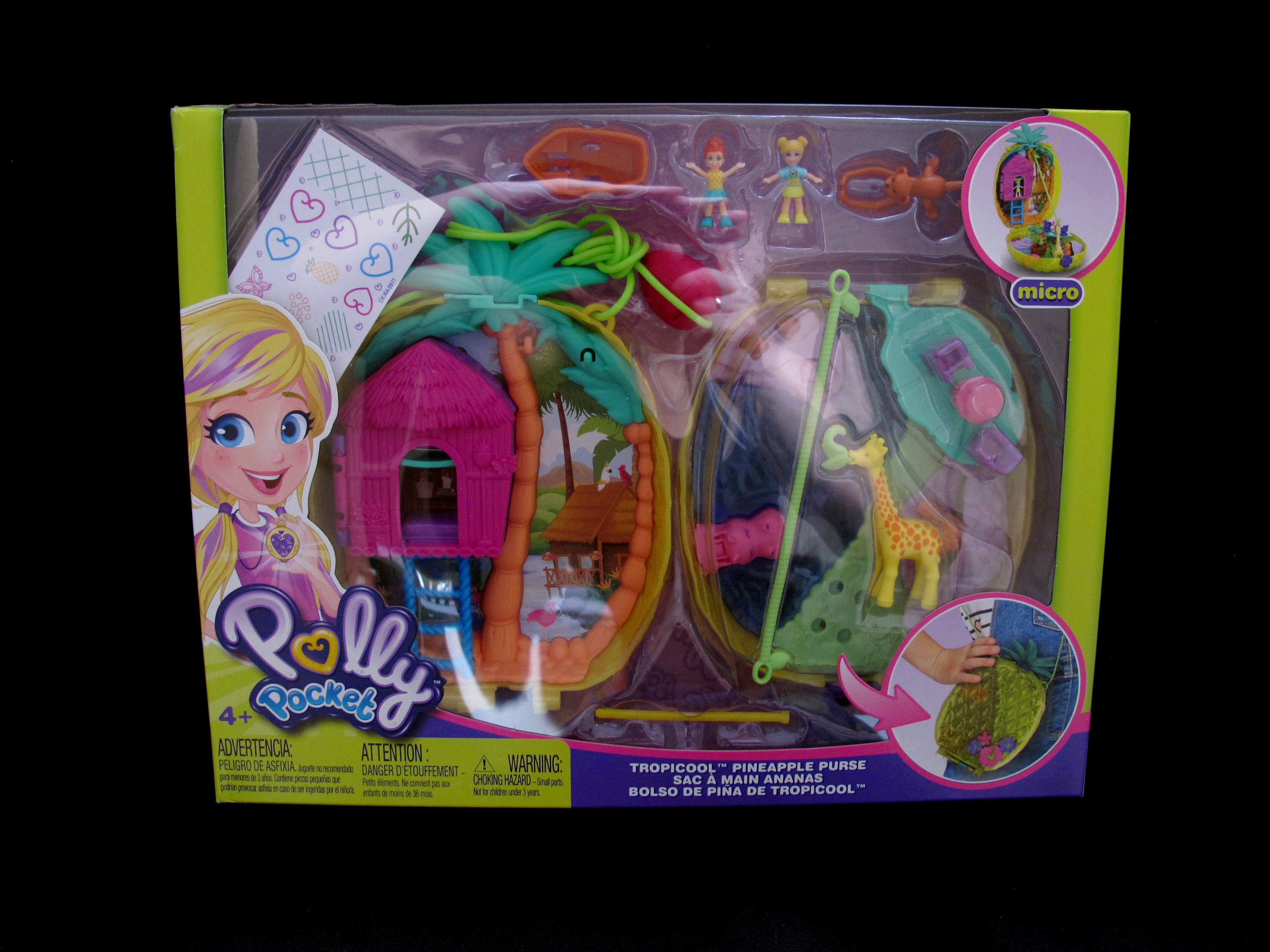 2019 Tropicool Pineapple Purse Polly Pocket (1).jpg